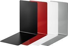 ALCO Buchstützen Metall verschiedene Farben und Größen jeweils 1 Paar (2 Stück)