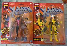 Hasbro Marvel Legends Vintage (Target) X-Men Animated Rogue and Gambit Retro