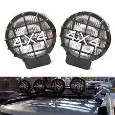 2X Roof & Bumper Halogen Driving Fog Light Spot Lamp For Jeep 4x4 Truck Pickup