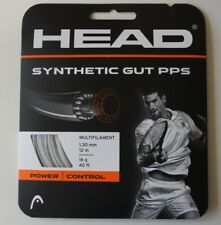 HEAD Synthetic Gut PPS Tennis String Set, 16g, White