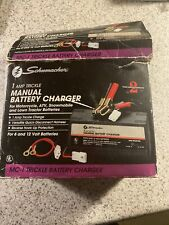 New Schumacher Mc-1 One Amp Motorcycle Battery Charger 6V-12V