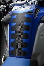 Für BMW R1200GS LC Adventure ab 2014- Tankpad Tankcover carbonlook Folie schwarz