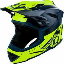 Fly Racing Default Full-Face MTB/BMX Helmet X-Small Teal/Hi-Vis Yellow