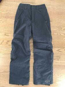 Patagonia Womens Insulated Ski Pants Dark Gray SIze 8