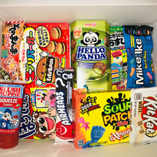 American & Japanese Sweets , Candy & Snacks Gift Box - Candy Hamper