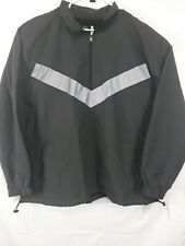 Mens Casual Fit Reflective Pieced Original Use Anorak Jacket size XXL