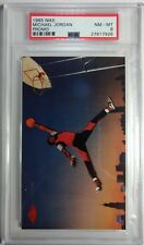 Rare: Michael Jordan 1985 Nike Promo Graded PSA 8 NM-MT Rookie RC, Bulls MJ GOAT