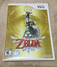 Wii The Legend Of Zelda Skyward Sword Game