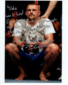 CHUCK LIDDELL Autographed Signed UFC Photograph - To John GREAT CONTENT