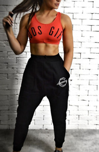 Red Cropped Vest - S/M RRP £20.00 BNWT Activewear sports bra
