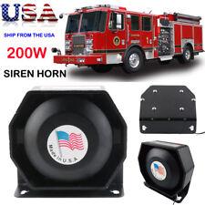 400Watt Siren PA Horn Speaker Police Fire Super Loud Warning Signal Alarm HORNS