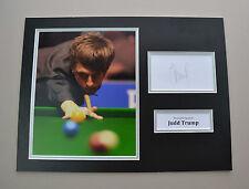 Judd Trump Signed 16x12 Photo Autograph Display Snooker Memorabilia + COA