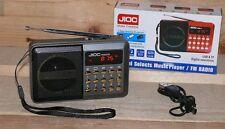 H089UR FUNBOX Multimedia player MP3 USB SD AUX IN FM Radiospieler 50W LCD Grau