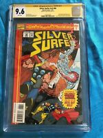 Silver Surfer #86 - Marvel - CGC SS 9.6 NM+ - Signed by Andy Smith