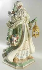 Fitz and Floyd Gregorian Porcelain Santa Figurine Limited Edition Hand Painted