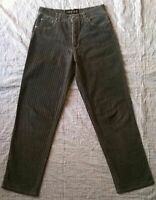 Roberto Cavalli Jeans a rayure (fine strass) pour Femme - taille M