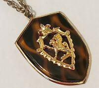 """24""""--Vintage MYSTICAL CREATURE GRIFFIN Necklace"""