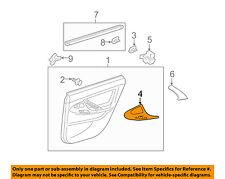 TOYOTA OEM 08-11 Camry Interior-Rear Door-Switch Bezel Trim Left 7427206111E1