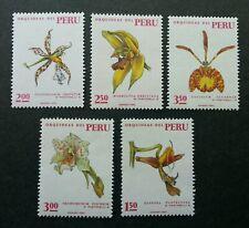 Peru Orchids 1971 Flower Flora Plant (stamp) MNH