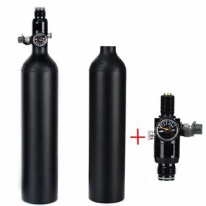4500psi Paintball HPA Cylinder Tank 0.5L High Compressed Air Bottle W/ Regulator