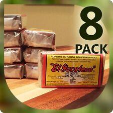 8 PACK Red Achiote Spiced Seasoning Paste - EL YUCATECO 3.5oz (100g)