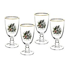 Portmeirion Holly & Ivy Goblets, Set of 4 (623958)