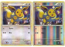 Eevee Common Pokemon Card Call of Legends 56/95