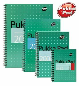Pukka Pad Metallic Jotta Notebook 200 Pages 80gsm Buy More Save More - All Sizes