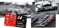 CD_1705 #14 Fonty Flock Mercury Outboard 55 Chevy 1:64 scale decals  ~OVERSTOCK~