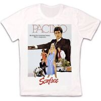 Scarface Al Pacino 80s Film Retro Vintage Hipster Unisex T Shirt 323