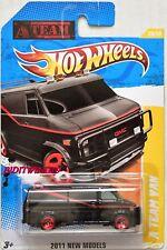 Hot Wheels 2011 Nuevo Modelos a Team Furgoneta # 39/50 Black