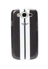 Coque Samsung Galaxy S2 Racing noire et blanche Mini Cooper
