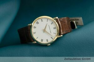 Audemars Piguet 18K (0,750) Gold Handaufzug Herrenuhr Medium Kal. 2080 Klassiker