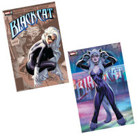 "Black Cat #1 (RARE J Scott Campbell ""A & B"" Variant Cover Set, Marvel Comics)"