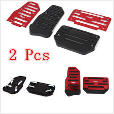2 Pcs New Red Automatic Transmission Car/Truck Nonslip Pedal Foot Rest Pad Cover