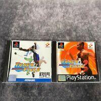 International Track & Field 1 & 2 PS1 PlayStation 1 PAL Game Bundle Black Label