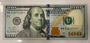 2013 *STAR NOTE* $100⭐️ Dollar Bill Federal Reserve Note RARE Mint Free Shipping