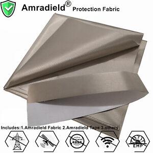 EMF/EMI/RFID Blocking Frequency Wave Radiation Protection Copper Faraday Fabric