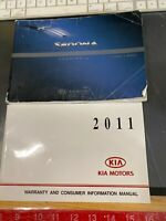 KIA Sedona Owner's Manual 2011