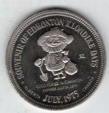 New Listing1975 Canadian Proof Medal for Edmonton Klondike Days, End of Steel