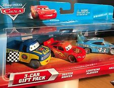DISNEY CARS MODELLINI: DEXTER HOOVER DAMAGED KING MCQUEEN  3pack