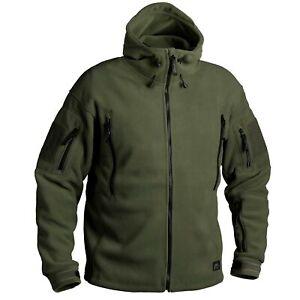 Helikon Tex Patriot Fleece Jacke Jacket Olive Green Outdoor 390g/m2 BL-PAT-HF-02