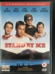 Stand By Me DVD Wil Wheaton Rob Reiner River Phoenix 1986 Region 2