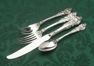 Sir Christopher by Wallace Sterling Silver individual 4 piece Place Setting