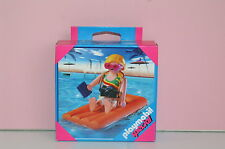 Playmobil seltene special 4681 Frau auf Luftmatratze Neu und OVP