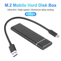 USB 3.0 / 3.1 2TB M.2 External Hard Drive Portable Desktop Mobile PC Hard Disk