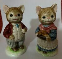 Vintage Coyote Shakers by Otagiri Southwestern Western Coyotes Japan Made Salt and Pepper Shaker Set