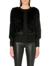 BNWT Ted Baker Farika wool cashmere blend Faux Fur coat jacket - Size 1/UK 8
