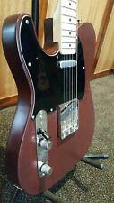 Left-handed Fender Telecaster Satin Rosewood Refin Body
