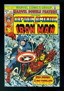 MARVEL DOUBLE FEATURE #1 Marvel 1973 VF+
